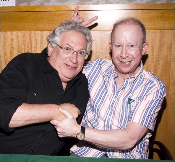 Harvey Fierstein and Jack Feldman