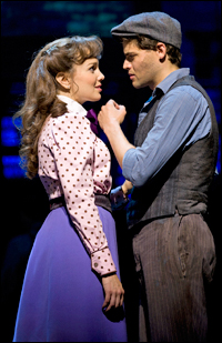Kara Lindsay and Jeremy Jordan