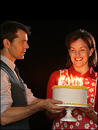 J. Robert Spencer and Alice Ripley in Arena Stage's <I>Next to Normal</I>.