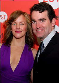 Alice Ripley and Brian d'Arcy James.