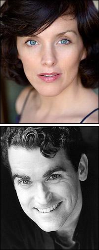 Alice Ripley and Brian d'Arcy James star in <i>Next to Normal</i>