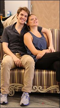 Alex Enterline and Mariah MacFarlane