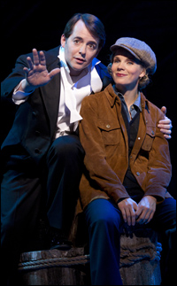 Matthew Broderick and Kelli O'Hara in the Broadway production