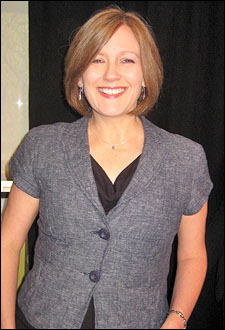 Music supervisor Caroline Humphris