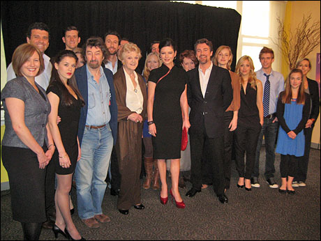 The Little Night Music cast and creative team