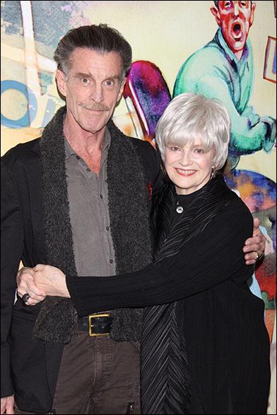 John Glover and Blair Brown