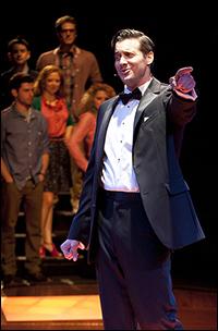 Heath Calvert in the Old Globe production