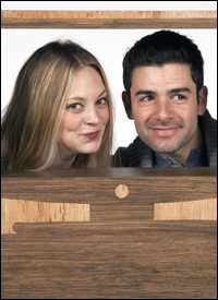Jenni Barber and Adam Kantor