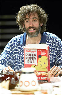 Stephen Mangan in The Old Vic Theatre Company production of <I>The Norman Conquests</I>.