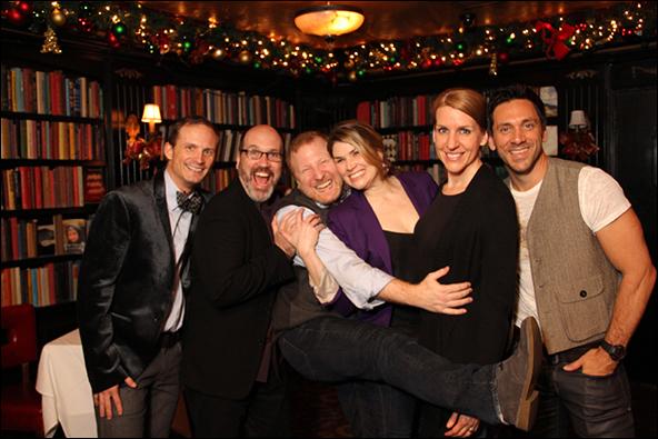 Jeff Bowen, Larry Pressgrove, Hunter Bell, Heidi Blickenstaff, Susan Blackwell and MIchael Berresse