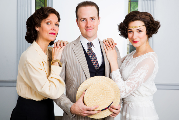 Lynne Wintersteller, Bret Shuford and Stephanie Rothenberg in Castle Walk