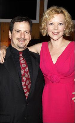 Jesse Berger and Emily Bergl