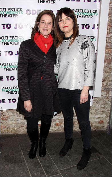 Debra Winger and Kathryn Erbe