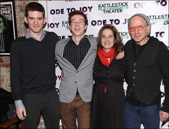 Noah Hutton, Gideon Babe Ruth Howard, Debra Winger and Arliss Howard