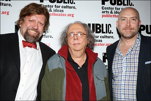 Oskar Eustis, Richard Foreman, Patrick Willingham