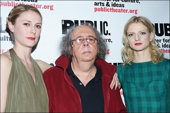 Stephanie Hayes, Richard Foreman, Alenka Kraigher