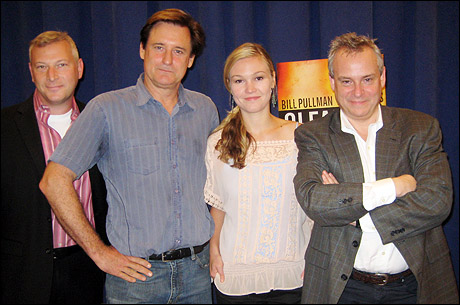 Producer Jeffrey Finn, Bill Pullman, Julia Stiles and director Doug Hughes