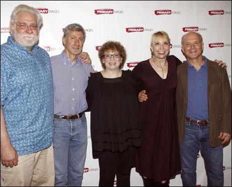 Richard Masur, David Garrison, Marcia Jean Kurtz, Julie Halston and Dan Butler