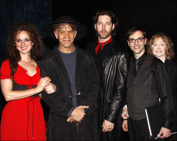 Melissa Errico, Brian Stokes Mitchell, James Barbour, Mark Hartman, Charlotte Moore