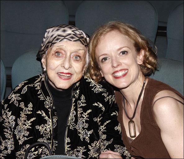 Celeste Holm and Nancy Anderson