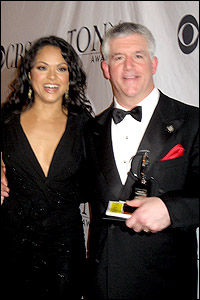 Karen Olivo and Greg Jbara