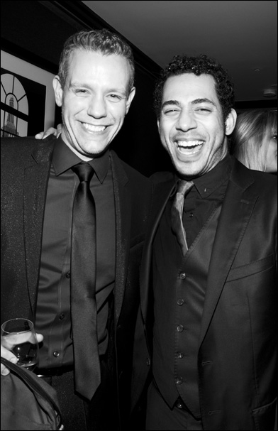 Adam Pascal and Justin Johnson
