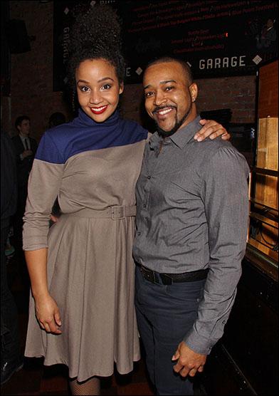 Stephanie Umoh and Jeremy Gaston