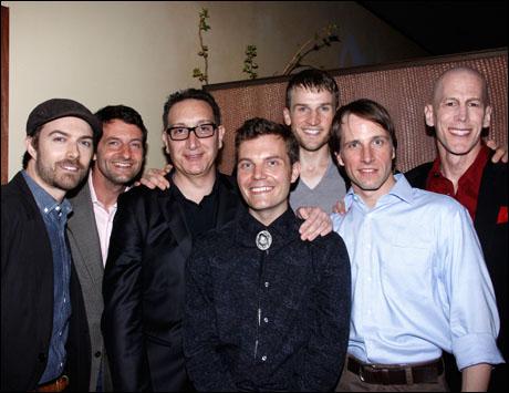 Noah Bean, Greg Pierotti, Moises Kaufman, Jimmy Maize, Claybourne Elder, Todd Lawson and Steven Hauck