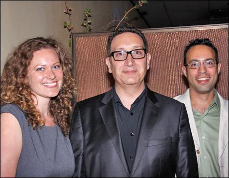 Tiffany Redmon, Moises Kaufman and Greg Reiner