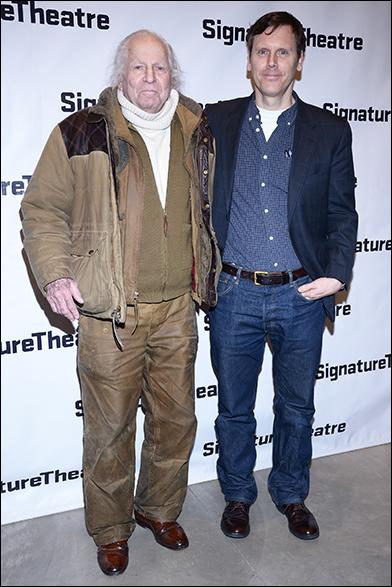 Gordon Lish and Will Eno