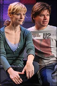 <I>Ordinary Days</I> stars Lisa Brescia and Hunter Foster