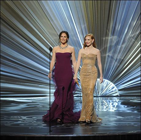 Jennifer Garner and Jessica Chastain