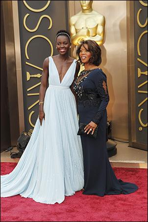 Lupita Nyong'o and Alfre Woodard