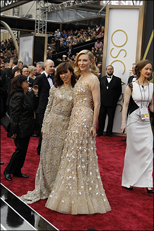 Sally Hawkins and Cate Blanchett