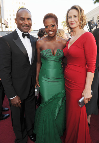 Julius Tennon, Viola Davis and Janet McTeer