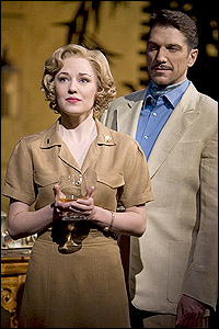 Laura Osnes with Paolo Szot in <i>South Pacific</i>