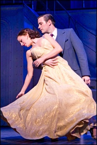 Nominees Laura Osnes and Colin Donnell in <i>Anything Goes</i>.