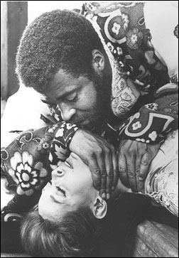 James Earl Jones and Julienne Marie in Othello at Shakespeare in the Park, 1964