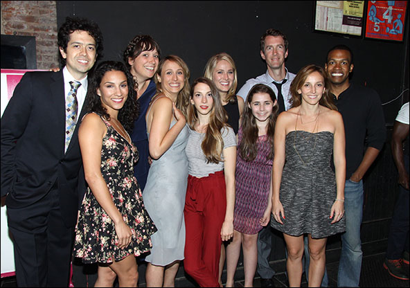 Geoffrey Arend, Elia Monte-Brown, Nikole Beckwith, Katya Campbell, Molly Bernard, Kate Cullen Roberts, Rachel Resheff, Adam Harrington, Adrienne Campbell-Holt and Genesis Oliver