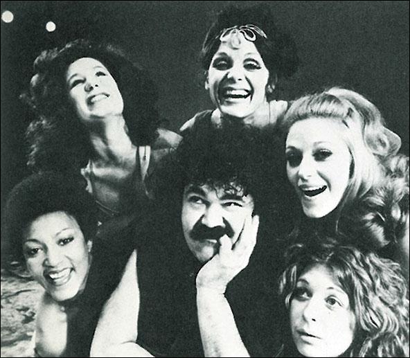 Paula Kelly, Penny White, Valerie Harper, Mary Frann, Regina Baff and Avery Schreiber in Ovid's Metamorphoses.