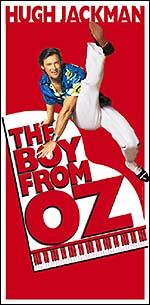 Promotional art for <i>The Boy from Oz</i>