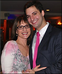 Patti LuPone and Joshua Johnston