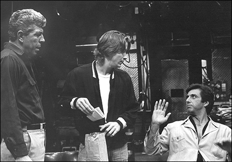 J.J. Johnston, James Hayden and Al Pacino in American Buffalo