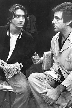 James Hayden and Al Pacino in American Buffalo