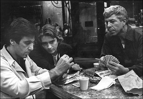 Al Pacino, James Hayden and J.J. Johnston in American Buffalo