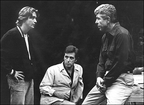James Hayden, Al Pacino and J.J. Johnston in American Buffalo