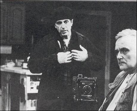 Al Pacino and Charles Cioffi in Chinese Coffee