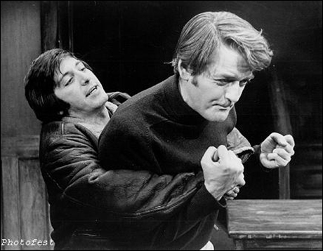 Al Pacino and Hal Holbrook in Does a Tiger Wear a Necktie?