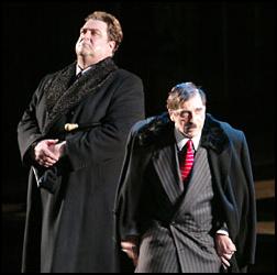 John Goodman and Al Pacino in The Resistible Rise of Arturo Ui