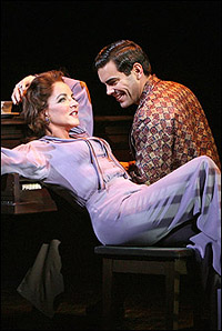 <I>Pal Joey</I>'s Stockard Channing and Matthew Risch.